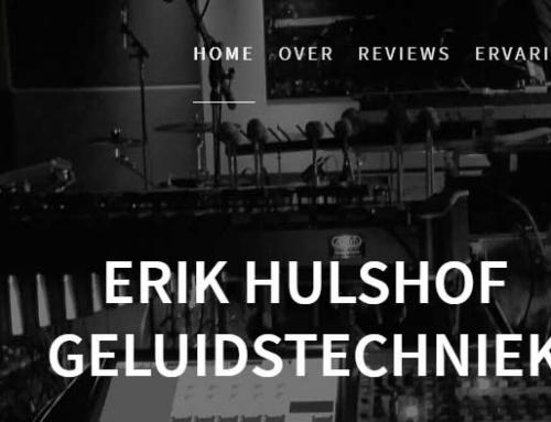 Erik Hulshof Geluidstechniek